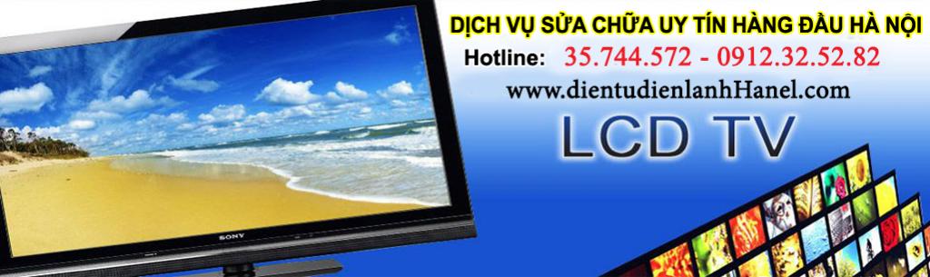 Dịch vụ sửa tivi lcd tại Hà Nội