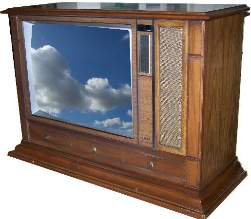 Sửa tivi CRT đời cổ điển