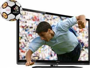 tivi LCD và bóng đá