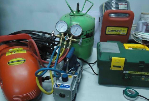 Nạp gas điều hòa, nạp ga