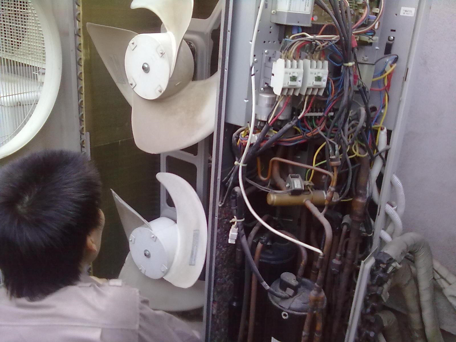 Sửa điều hòa trung tâm sửa điều hòa công nghiệp