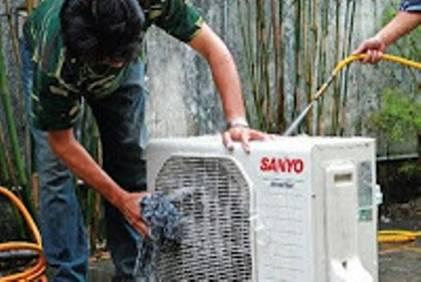 Bảo dưỡng giàn nóng khối ngoài trời