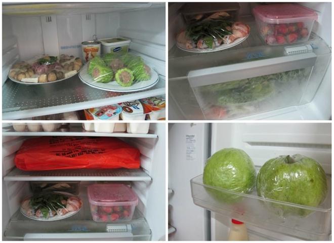 Sửa tủ lạnh làm đông thực phẩm
