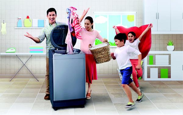 máy giặt nước nóng - dien lạnh Hanel