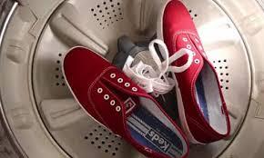 Mẹo giặt giày bằng máy giặt không sợ bị hỏng giayd