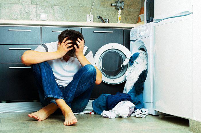 nguyên nhân máy giặt kêu to khi hoạt động