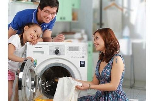 cách khắc phục máy giặt Samsung bị rung