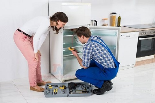 Sử tủ lạnh sanyo