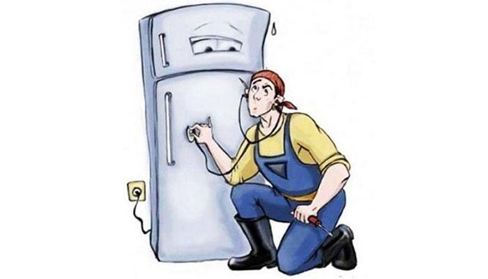 Vì sao tủ lạnh mới bị nóng hai bên ?