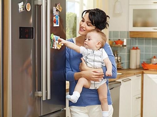 Mẹo khử mùi hôi tanh thực phẩm trong tủ lạnh toshoba