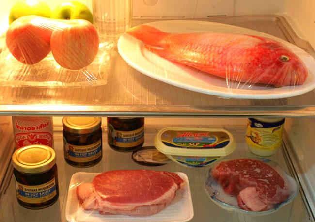 Mẹo bảo quản thịt, cá trong tủ lạnh ngày tết