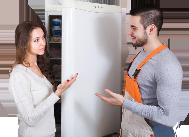 Không được để dầu mỡ dính vào phần cao su cửa tủ lạnh