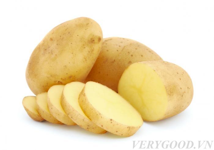 Sử dụng khoai tây để tẩy nấm mốc