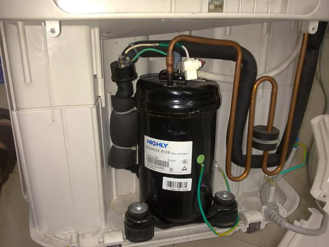Thay gas tủ lạnh không đúng cách