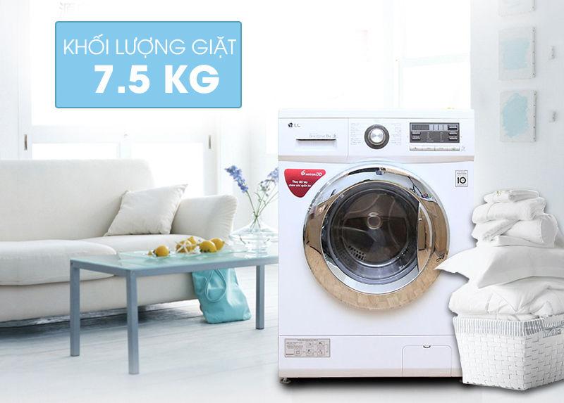 Khối lượng giặt trên máy giặt