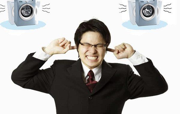Máy giặt gây ồn