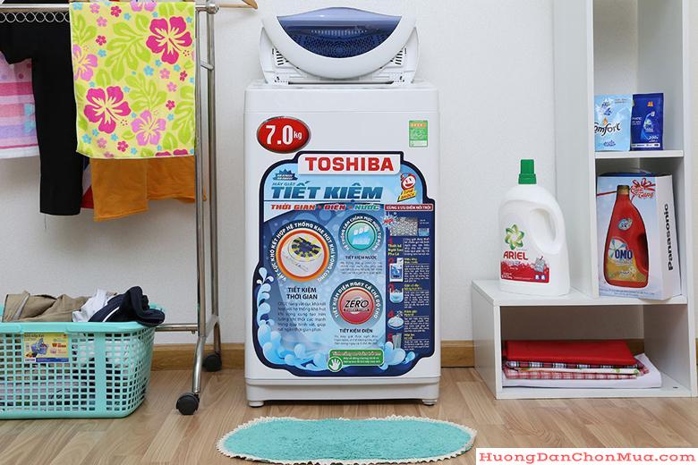 Áp dụng các công nghệ tiên tiến vào máy giặt Toshiba