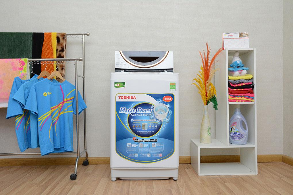 Một số công nghệ giặt trên máy giặt Toshiba