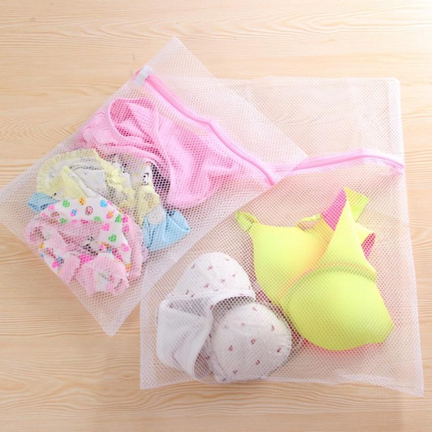 dùng túi giặt để bọc áo ngực đồ lót