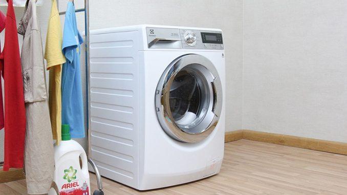 Vị trí lắp đặt máy giặt mùa mưa