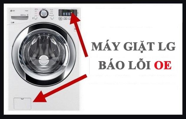 Máy giặt LG báo lỗi OE