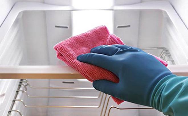 cách vệ sinh tủ lạnh hết mùi